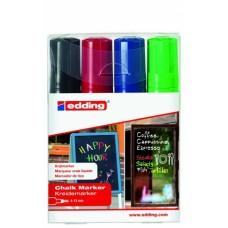 Набор меловых маркеров  E-4090 (4 шт)