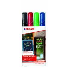 Набор меловых маркеров E-4095 (4 шт)