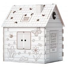 Детский домик-раскраска