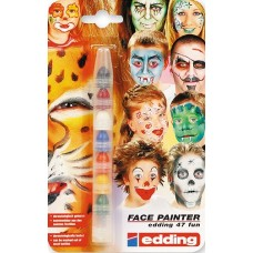 Набор маркеров для лица Edding 47 Face Painter