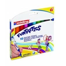 Набор маркеров для рисования FUNTASTICS Е-14 (10 шт)