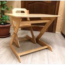 Комплект Кенгуренок (растущий столик и растущий стульчик)