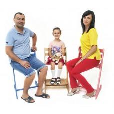 Детский деревянный растущий стул Конёк Комфорт