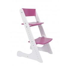 Растущий стул Конёк Горбунёк (бело-розовый)