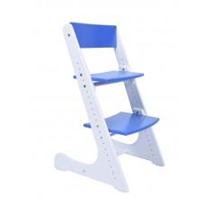Растущий стул Конёк Горбунёк (бело-синий)