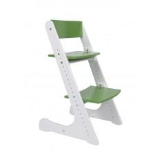 Растущий стул Конёк Горбунёк (бело-зелёный)