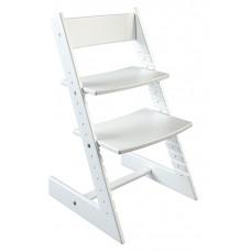 Детский стул Конёк-Горбунёк из бука (белый)