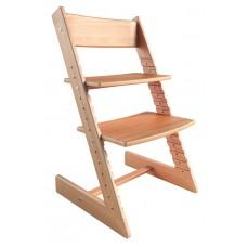 Детский стул Конёк-Горбунёк из бука (светлый)
