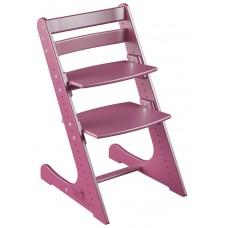 Детский растущий стул Конёк Комфорт (ягодный)