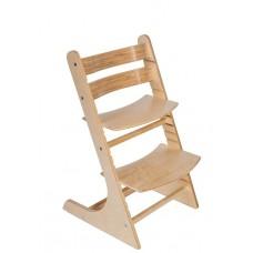 Детский регулируемый растущий стул RostOk (береза)