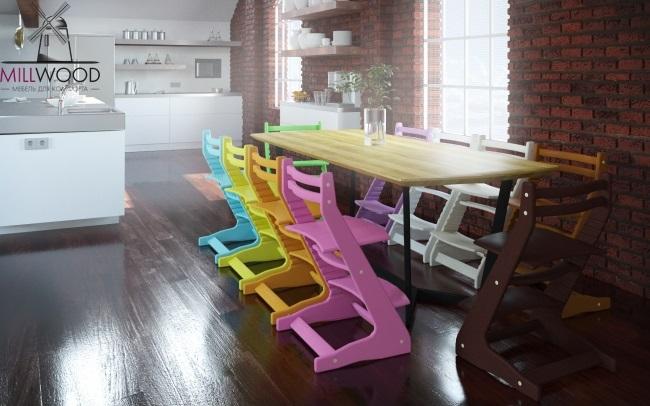 Милвуд - мебель для дома, детские стулья Вырастайка