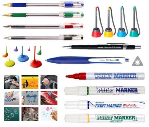 маркеры и ручки Munhwa