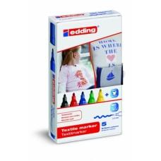 Набор маркеров для текстиля Е-4500