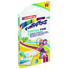 Набор маркеров для текстиля FUNTASTICS E-17
