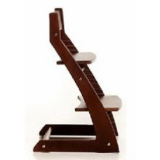 Регулируемый детский стул Kotokota (темное дерево)