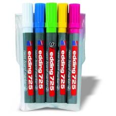 Набор неоновых маркеров E-725