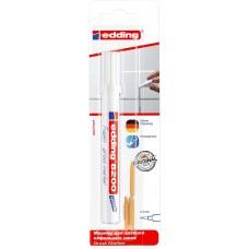 edding 8200 маркер для затирки кафельных швов белый (блистер)