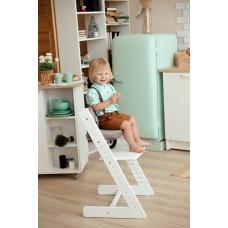 Детский растущий стул Конёк Горбунёк Премиум из бука