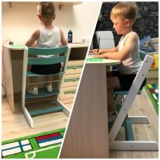 Детский растущий регулируемый стул Strong