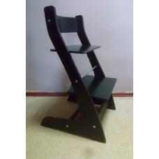 Регулируемый детский стул Hippo (чёрный)