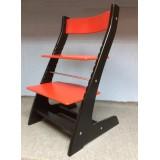 Регулируемый детский стул Hippo (чёрно-красный)