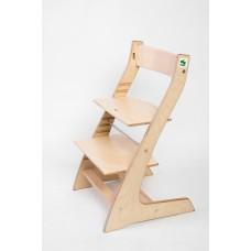 Регулируемый детский стул Hippo (натуральный)