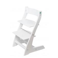 Регулируемый детский стул Hippo (белый)
