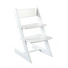 Детский стул Конёк-Горбунёк Премиум из бука (белый)