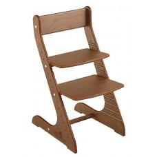 Детский растущий стул Конёк Стандарт (орех)
