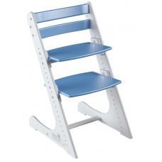 Растущий стул Конёк Комфорт (бело-синий)