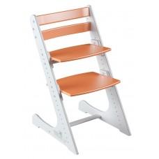 Растущий стул Конёк Комфорт (бело-оранжевый)