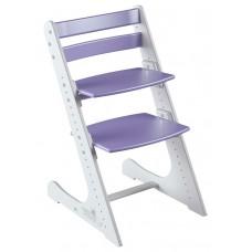 Растущий стул Конёк Комфорт (бело-сиреневый)