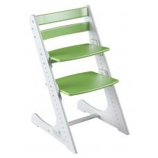 Растущий стул Конёк Комфорт (бело-зелёный)