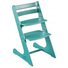 Детский растущий стул Конёк Комфорт (лазурный)