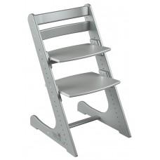 Детский растущий стул Конёк Комфорт (серый металлик)