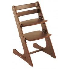Детский растущий стул Конёк Комфорт (орех)