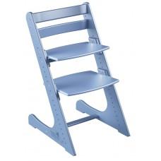 Детский растущий стул Конёк Комфорт (васильковый)