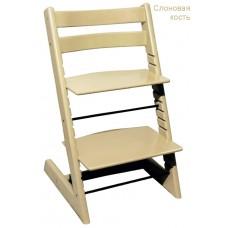 Детский растущий регулируемый стул Strong (слоновый кость)