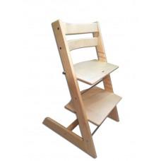 Детский растущий регулируемый стул Strong (берёза)
